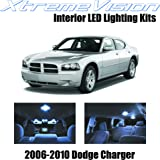 XtremeVision Dodge Charger 2006-2010 (5 Pieces) Cool White Premium Interior LED Kit