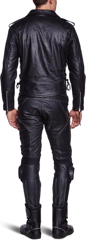 Giacca Chopper Schwarz LJ-CO Giacca in pelle taglia 54 // XL Protectwear Motorcycle