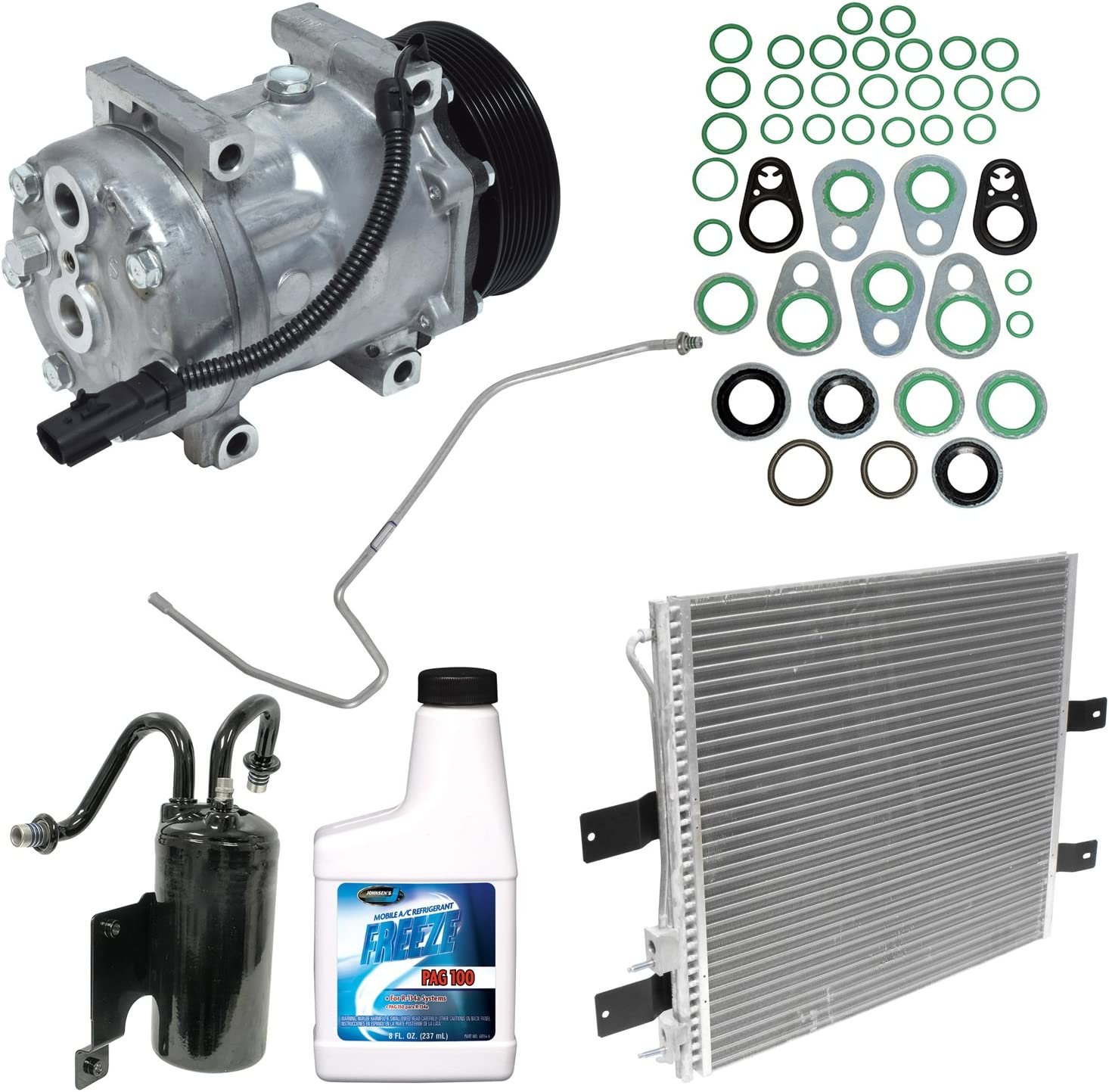 A//C Compressor and Component Kit KT 1491A