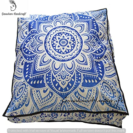 Tapiz decorativo funda de almohada, de perro cama, Boho decoración, hecho a mano