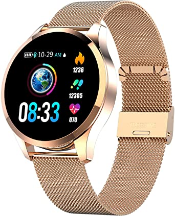 Amazon.com: Reloj inteligente con pantalla táctil de color ...