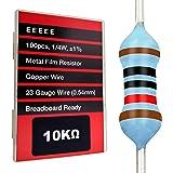 EDGELEC 100pcs 82 ohm Resistor 1//4w 0.25 Watt Multiple Values of Resistance Optional /±1/% Tolerance Metal Film Fixed Resistor
