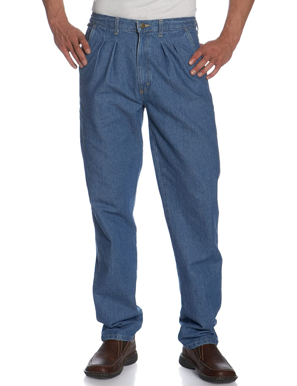 Wrangler Men's Big and Tall Rugged Wear Angler Relaxed-fit Jean 33312EI