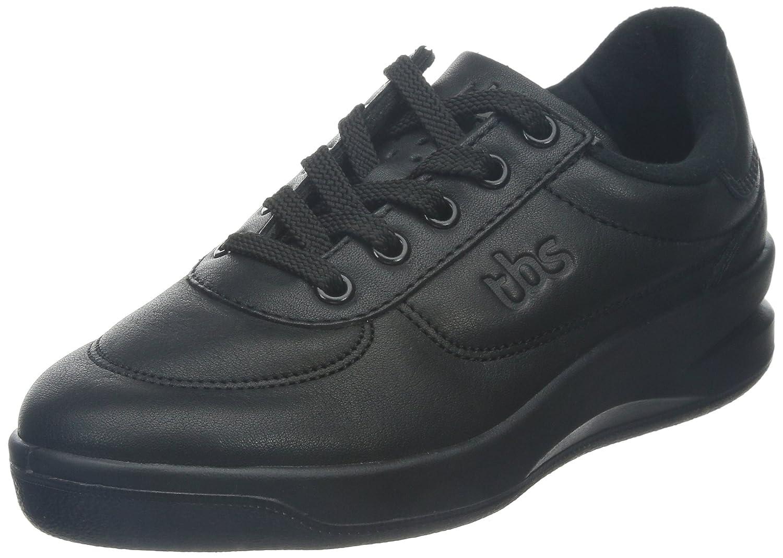 TBS - Zapatos de cuero para mujer 42 EU|Negro