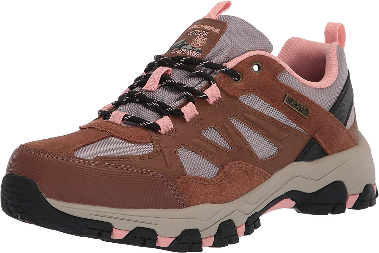 Skechers Selmen-West Highland Sneakers voor dames, bruin Bruin tan
