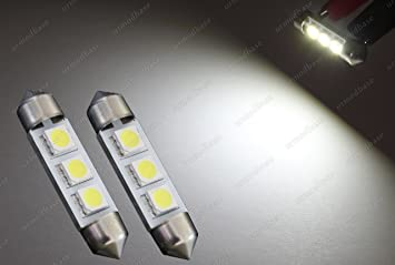 urmodbase CanBus luces LED SMD C5W 239 Festoon 38 mm 39 mm matrícula matrícula matrícula luces