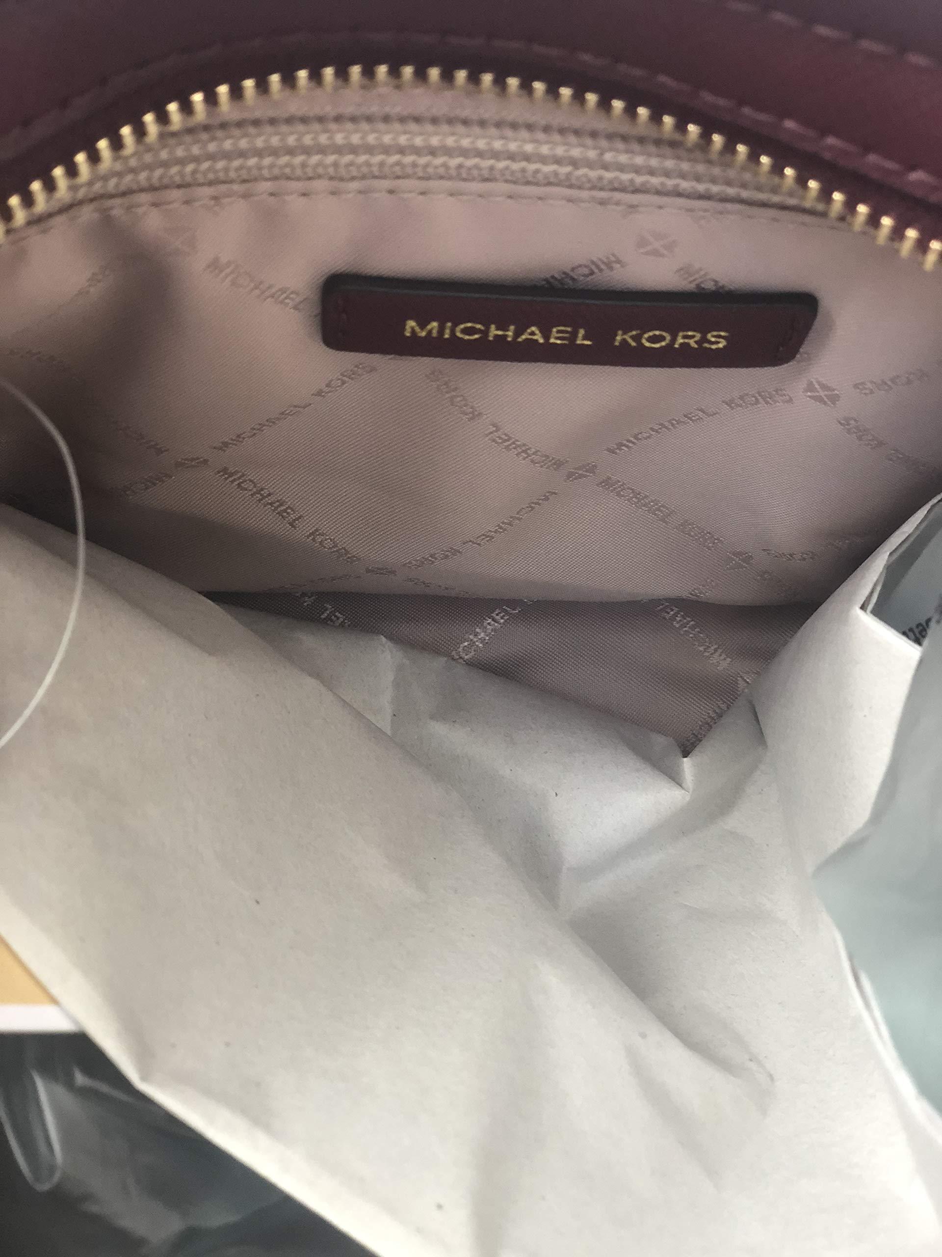 a8fe0beeb426 MICHAEL Michael Kors Selma Stud Medium Messenger Leather Crossbody Bag –  Merlot