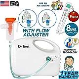 Dr Trust Bestest Compressor Nebulizer Machine Kit (White) …