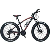 "Roulik Avalanche 38.0 | 24 Speed Shimano 26"" Alloy Frame Fat Bike With Front Shock"