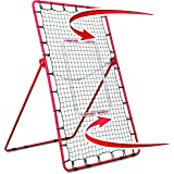 Rukket Pitch Back Baseball/Softball Rebounder | Pitching and Throwing Practice Partner | Adjustable Angle Pitchback…