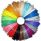 Greatssly 594 Pieds linéaires 3D Stylo Fils Filament 1.75mm PLA matériau de 18 couleurs uniques 33 pieds Chaque couleur (pas ABS)