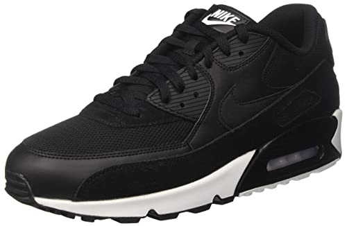 save off c2012 2b127 Nike Men s Air Max 90 Essential Trainers, Black White, 6.5 UK 40.5 EU