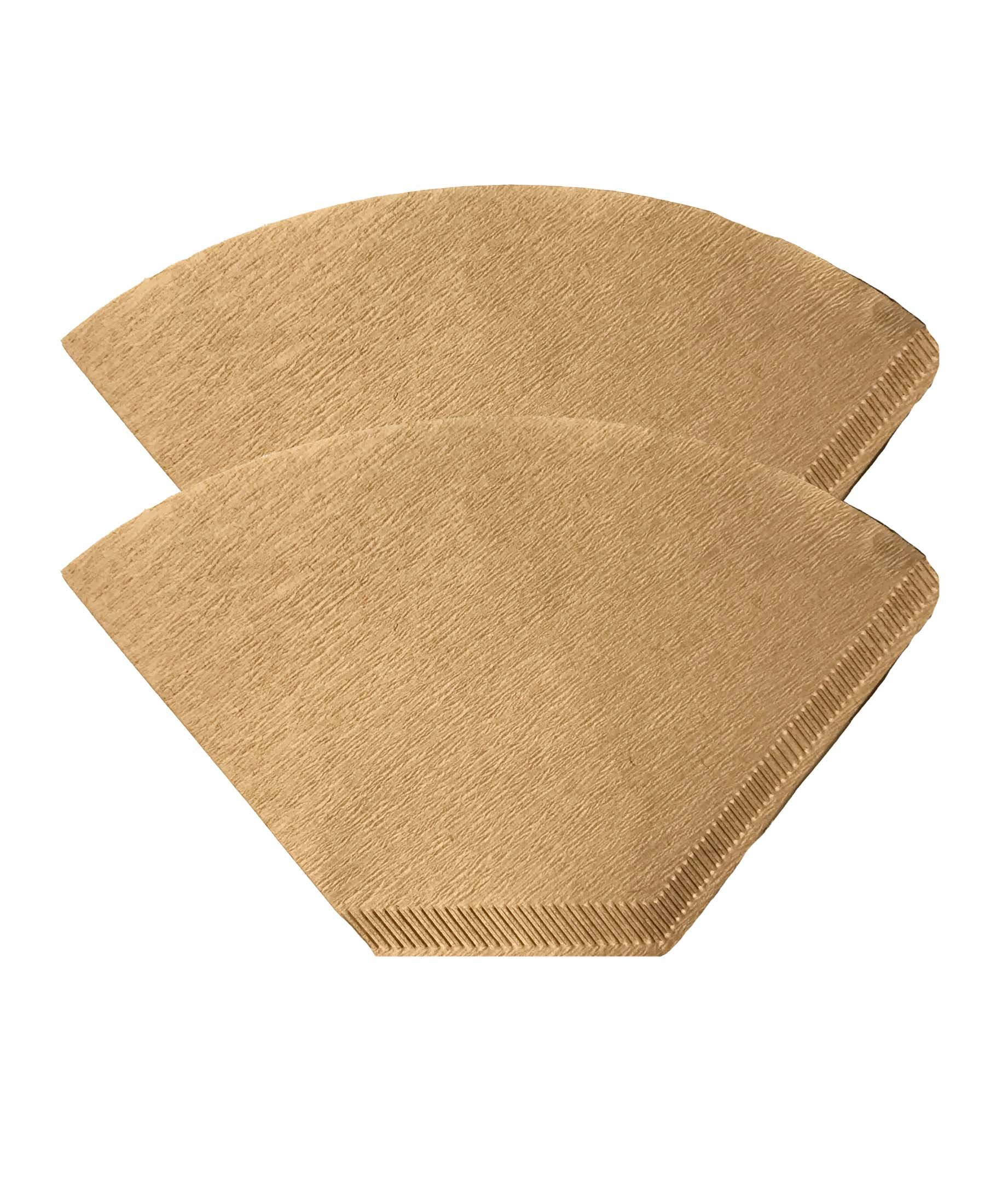 Think Crucial 200 Replacements for Unbleached Natural Brown Paper #4 Coffee Disposable Cone Filters, Fits All Coffee Makers With #4 Filters including Melitta, Great for Homemade Coffee