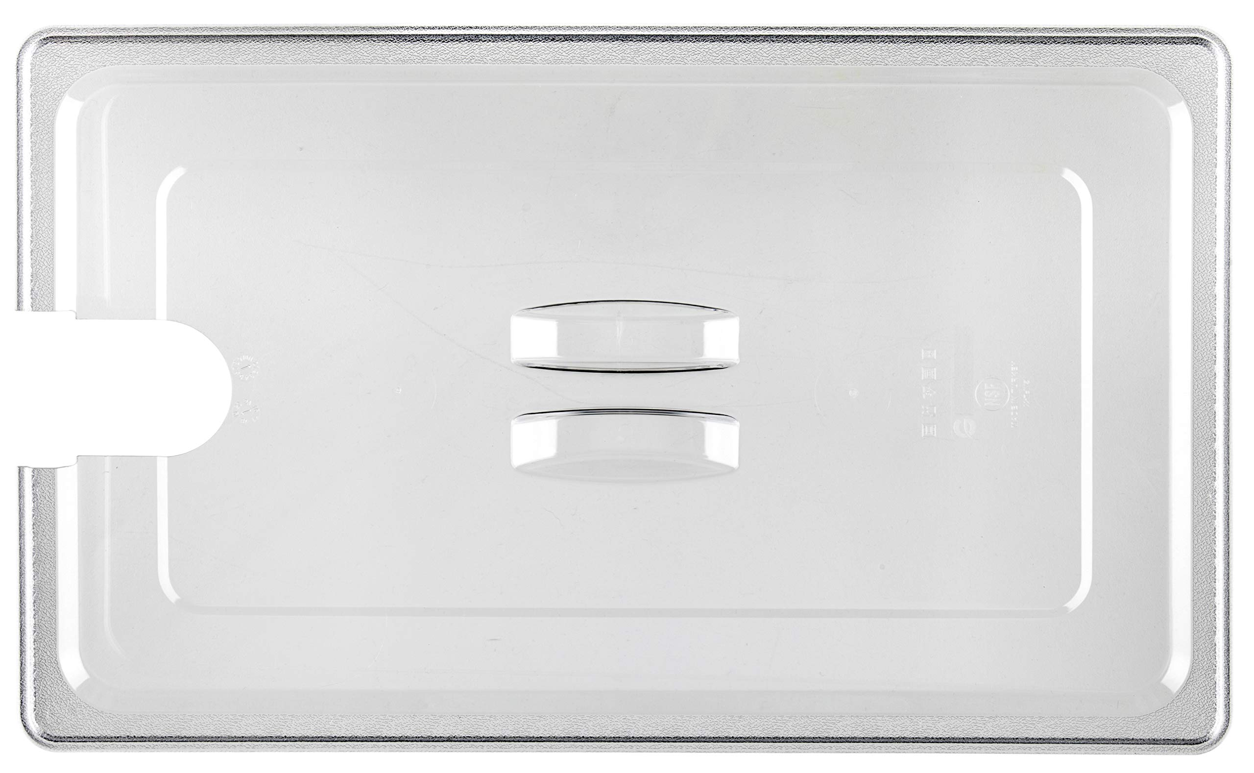 Wellborn Sous Vide Container Lid (WHL-26) for WHC-26 also fits to Lipavi C20, Strong & Durable Lid for Anova Culinary Precision Cooker & Anova Pro & Anova Nano, Polycarbonate Clear, NSF Approved (Lid Only) by Wellborn