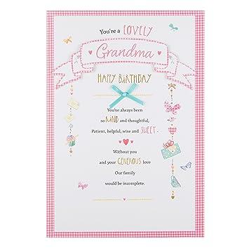 Hallmark Grandma Birthday Card Kind And Sweet