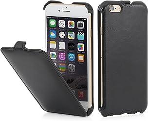 """StilGut Slim Case, custodia per Apple iPhone 6 & iPhone 6s (4.7""""), nero vintage"""