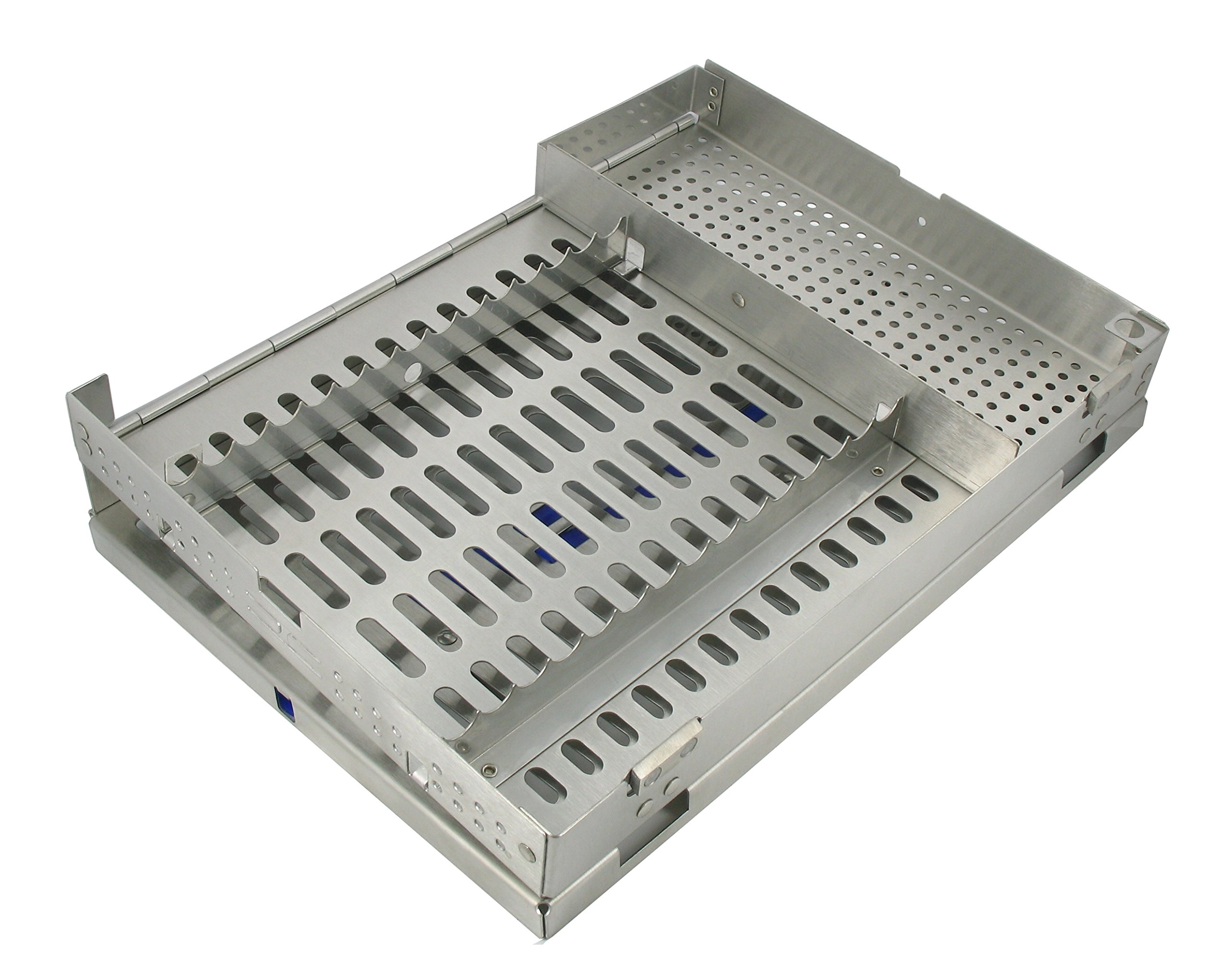 """Dental USA 7512 Surgical Cassettes Fifteen Hold Wi Acc Rack 8""""L x 11""""W x 1 ¼ D"""
