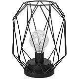 Design Lampe Dekoleuchte Marco, Stehleuchte eckig gedreht