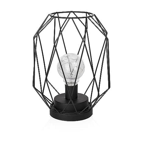 Smartwares IDE-60007 Lámpara de mesa, LED, Alimentada con pilas