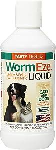 Durvet WormEze Liquid Canine & Feline Antihelmintic, 8 oz