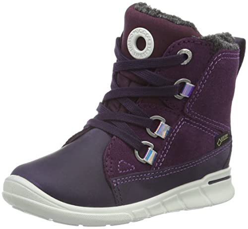 Ecco First, Botines de Senderismo para Bebés, Morado (Night SHADE/BURGUNDY58855)