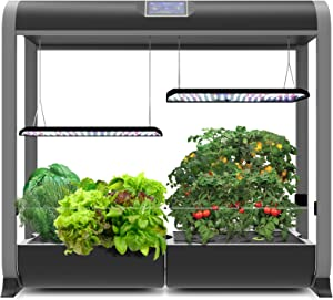 AeroGarden Farm 24Plus, w/Salad Bar Seed Kit, Black