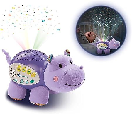 VTech Baby - Popi estrellitas, Proyector de bebe con música relajante para ayudarle a dormir, historias, sonidos de la naturaleza, rimas infantiles y canciones de cuna, temporizador (80-180922): Amazon.es: Juguetes y juegos