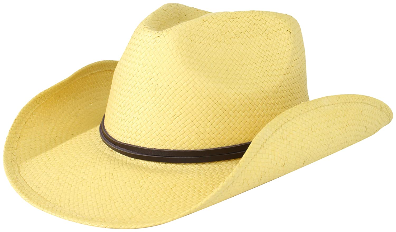San Diego Hat Company Women's Soft Toyo Paper Cowboy Hat Beige One Size stclbeige
