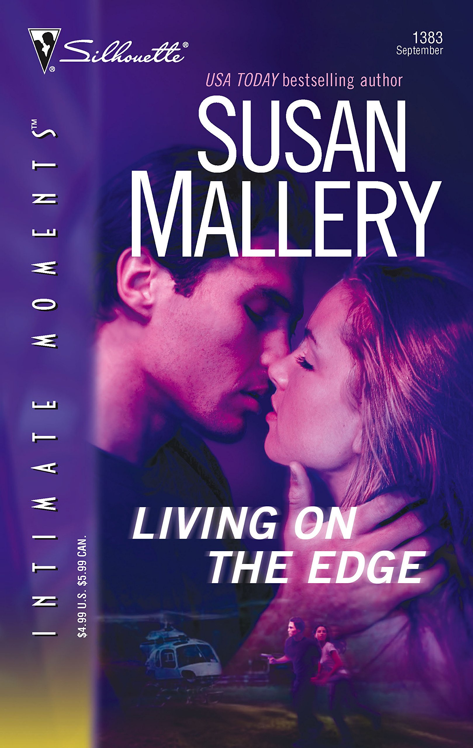 Living on the Edge (Silhouette Intimate Moments) ebook