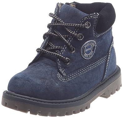 2ecba2db9c653 Sucre d Orge Arafal, Boots garçon - Bleu, 24 EU  Amazon.fr ...