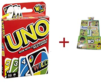 Buy Ght Ben 10 Ludo Snakes And Uno Best Kid Family Game Set Of 1 Ben 10 Ludo Snakes Set Of 1 Uno Online At Low Prices In India Amazon In