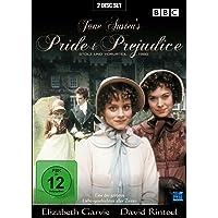 Jane Austen's Pride & Prejudice - Stolz und Vorurteil 1980 (2 DVDs) [Alemania]