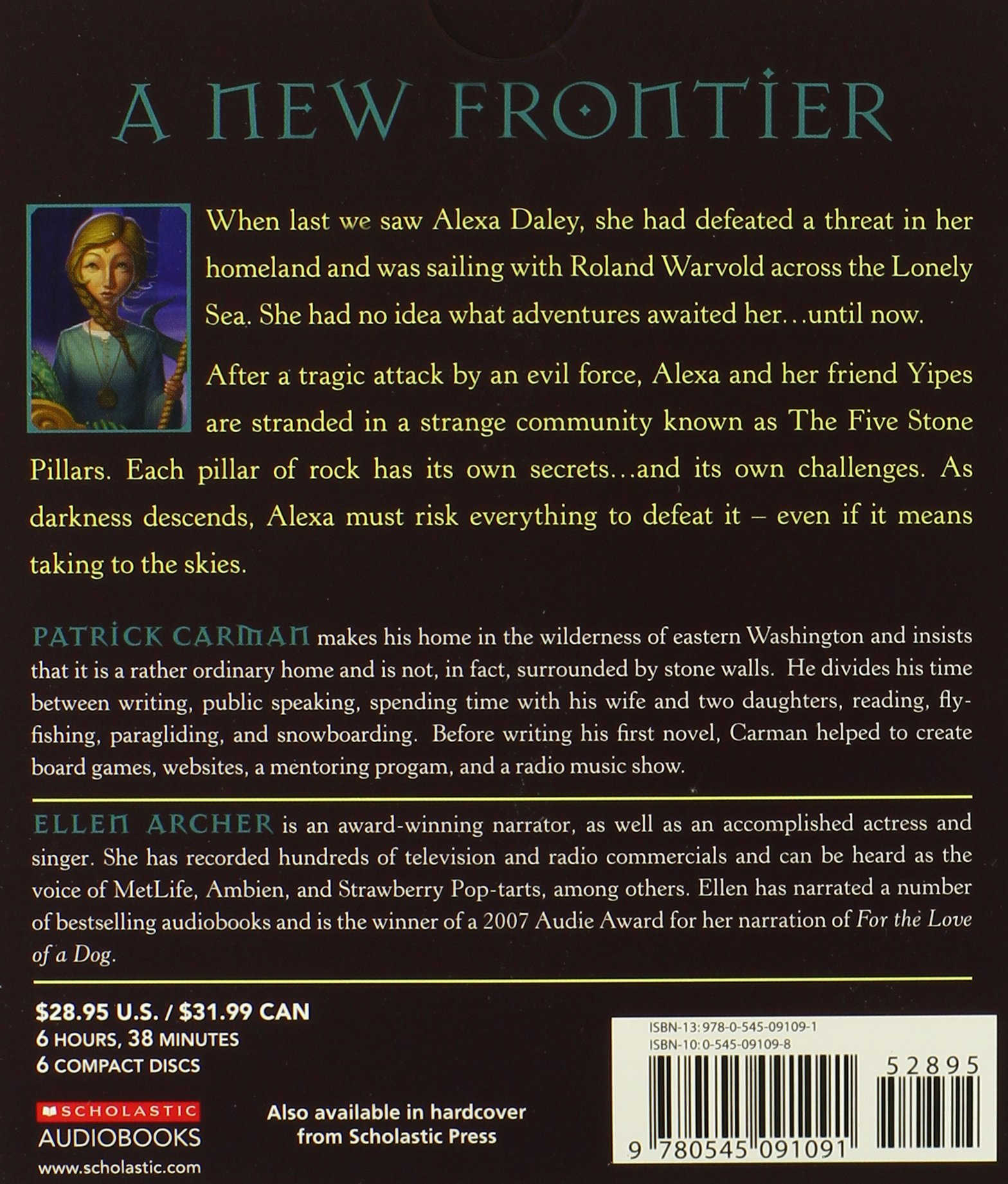 The Land of Elyon #4: Stargazer - Audio by Brand: Scholastic Audio Books (Image #2)