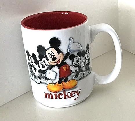 037f106cb1e20 Walt Disney World Mickey Mouse Raised Design Ceramic Mug Cup
