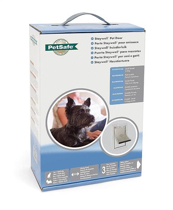 PetSafe, Staywell, Aluminium Pet Door, Small, Solid Design, Easy Install