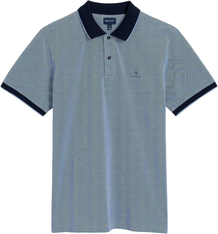 Gant Polo Palacio Azul y Oxford piqué XXXL: Amazon.es: Ropa y ...