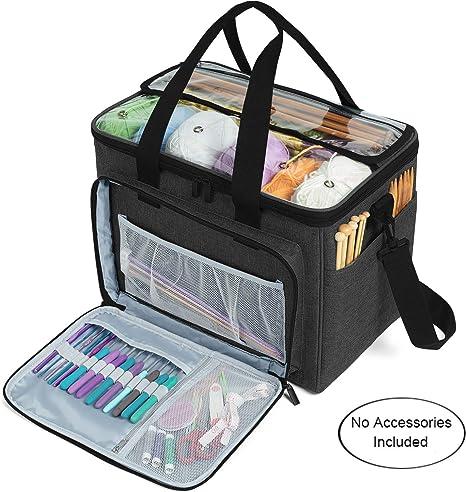 !Yarn Storage Bag Handbag Yarn Crochet Knitting Accessory Organizer Crochet  zi