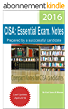 CISA: Essential Exam. Notes (English Edition)