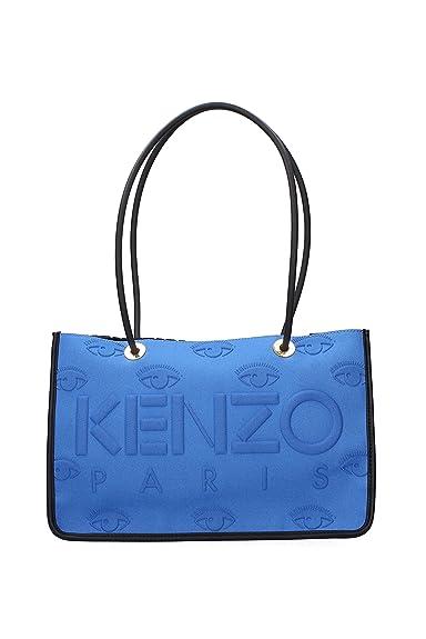 Kenzo Sacs D épaule Femme - Tissu (F092SA405K22BLU)  Amazon.fr ... cf5af709e03