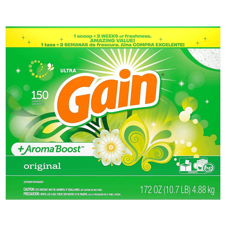 Gain With Freshlock Original Powder Detergent 150 Loads 172 Oz by GAIN B00498HH0U