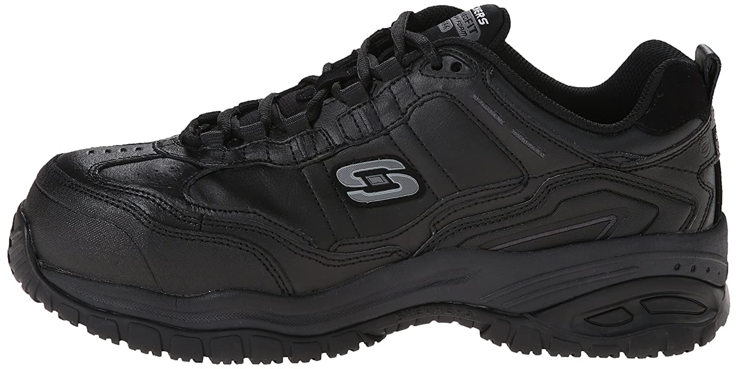 Skechers for Work Work Work Men's Soft Stride-Chatham Lace-Up Slip Resistant Turnschuhe 38176a
