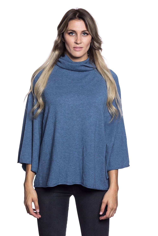 200c39e4e Abbino CG001 Ponchos for Women Ladies - Multiple Colours - Transition  Autumn Winter Warm Outwear Womens Girls Sale Charm Tenderness Fashion  Flexible ...