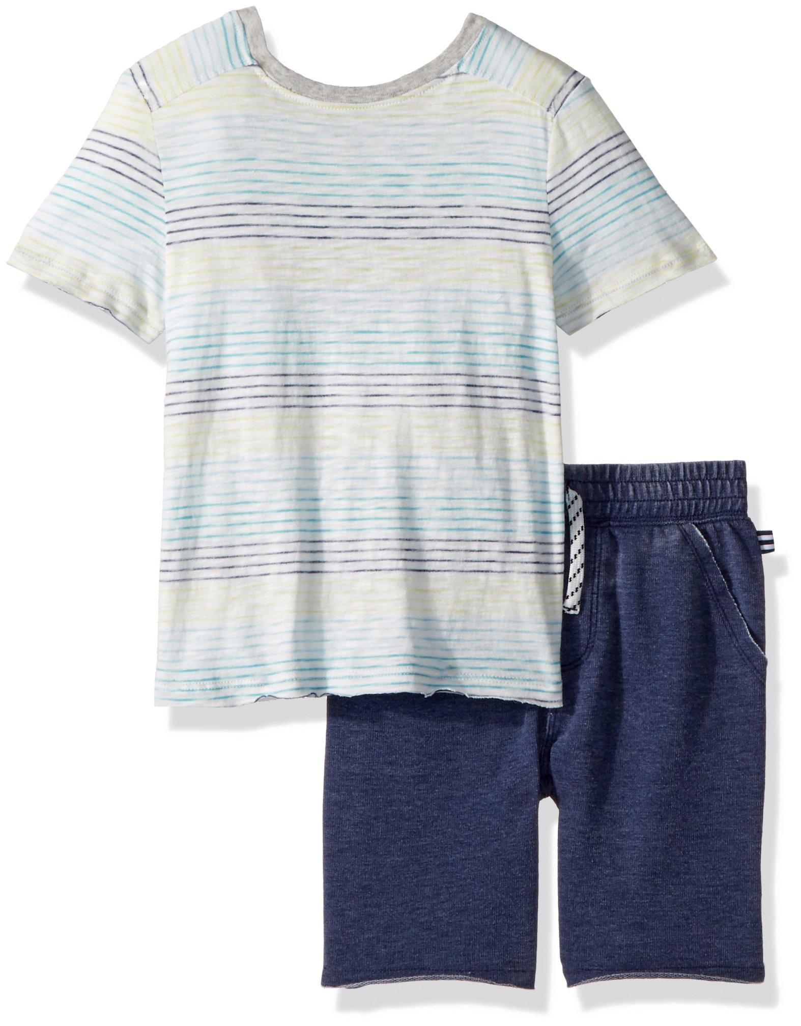 Splendid Toddler Boys' Stripe Top Set, Full Sail, 4T