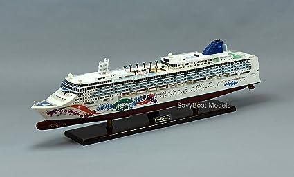 Amazon Com Norwegian Pearl Cruise Ship 40 Handmade Wooden Ship Model Toys Games