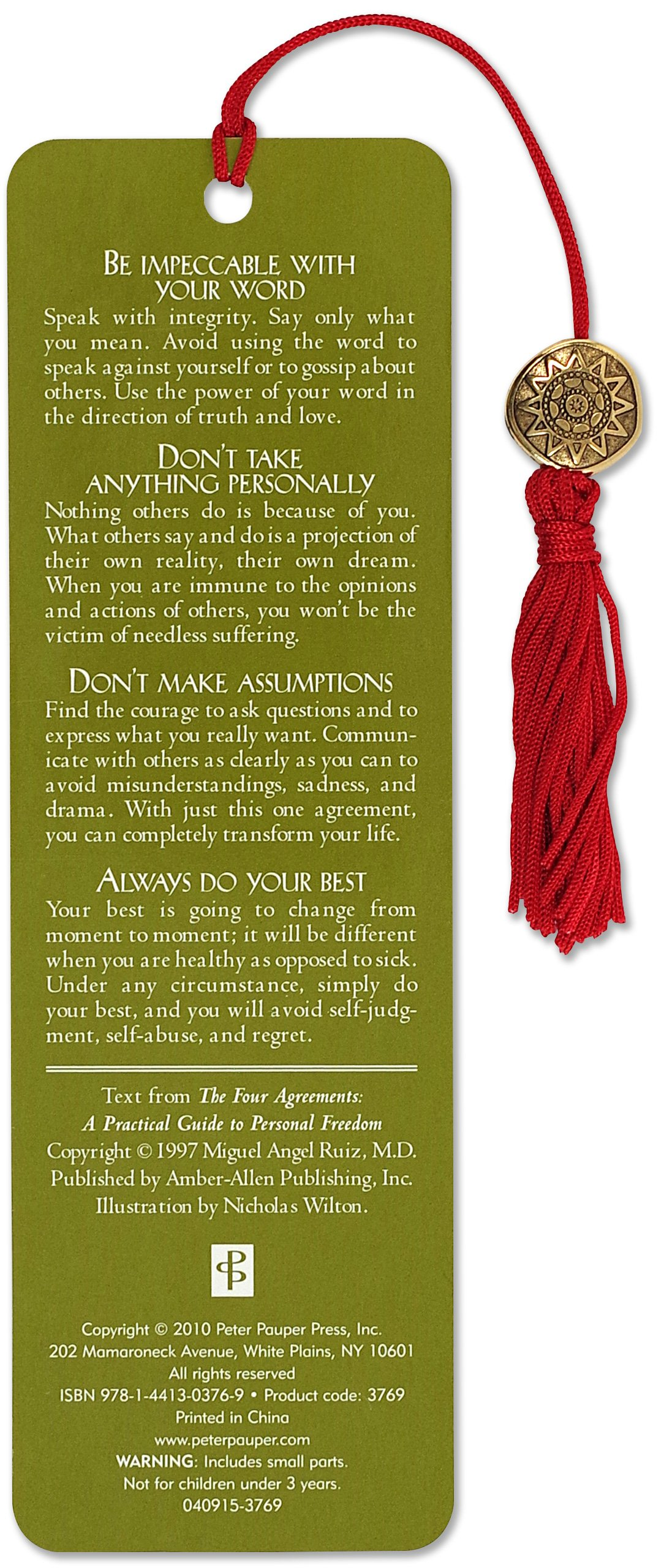 The Four Agreements Beaded Bookmark Plete Overview For
