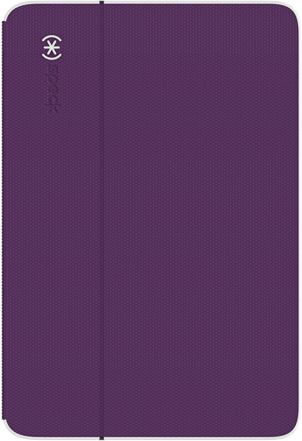 Speck Products DuraFolio Case and Stand for iPad Mini 4, Acai Purple/White/Slate Grey (73884-5075)