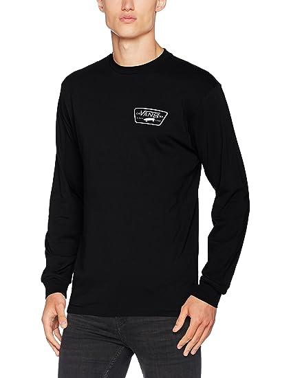 63e9ebad Vans Men's Full Patch Back Ls T-Shirt: Vans: Amazon.co.uk: Clothing