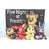 "Five Nights At Freddy 's Plush Toy 4pcセット6.5 "" Stuff Animal Plush Toy"