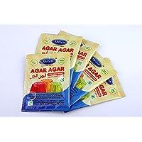 Meron Agar-Agar China Grass Sachet 50 Grams (10Gms * 5 Pack)