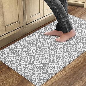 QSY Home Kitchen Anti Fatigue Floor Comfort Mats for Standing Desk Garages